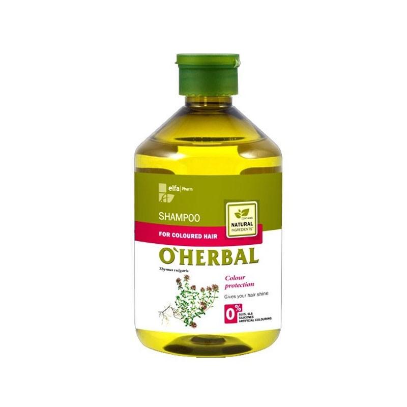 Champu Oherbal Cabello Teñido Extracto Natural 500Ml