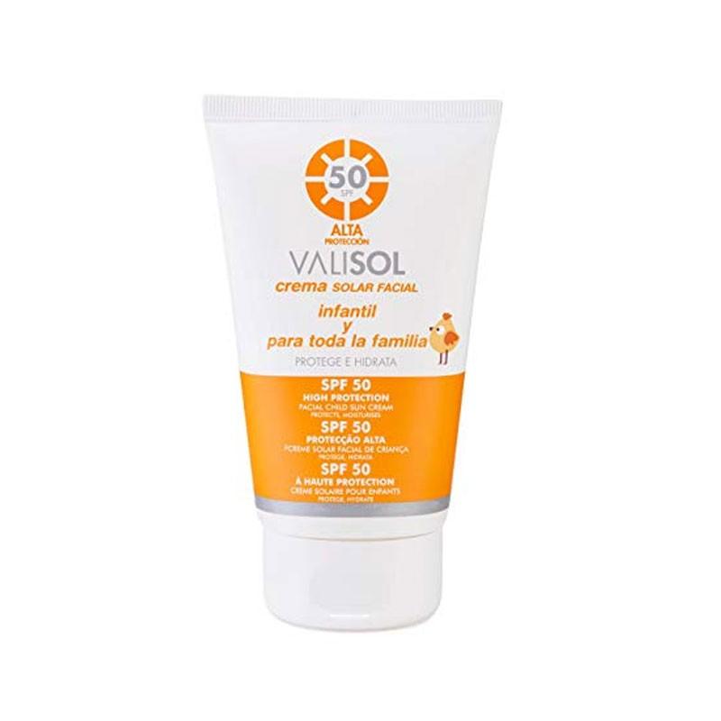 Crema Solar Facial Valisol Spf 50 100Ml