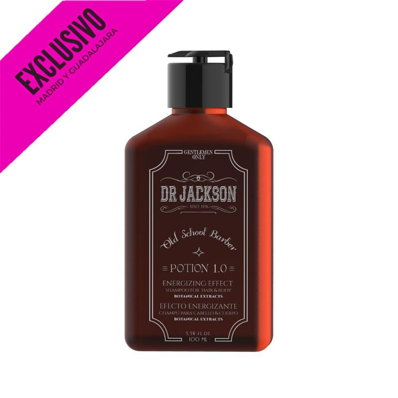 Champu Energizante Cabello Y Cuerpo Dr Jackson Potion 100Ml