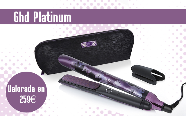 Sorteo GHD Platinum Nocturne Collection – Tú eres parte de Mazuelas