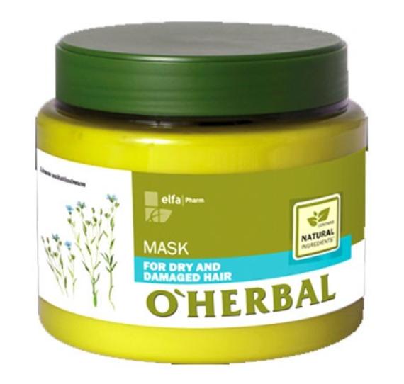 Mascarilla O'herbal Seco Y Dañado Extracto Natural