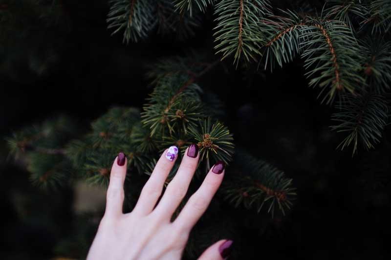 Tipos de decoración de uñas en otoño