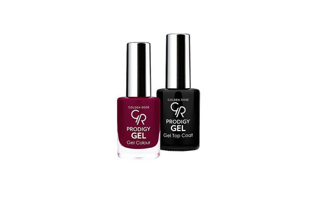 KIT PRODIGY GOLDEN ROSE GEL Nº 21 + TOP COAT SIN LAMPARA*