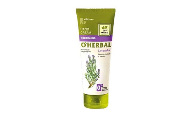 Crema de manos O`Herbal lavanda