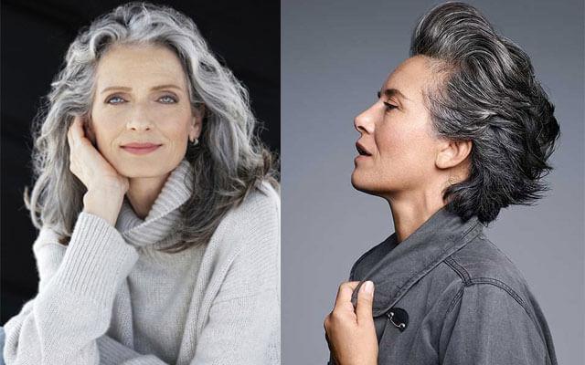 tendencias de belleza - pelo canoso