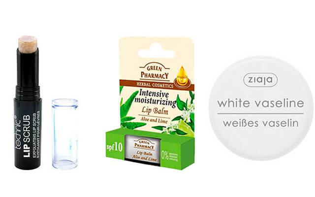 Productos para para combatir el frio en los labios