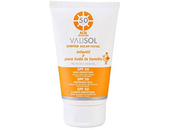 Protector solar facial Valisol