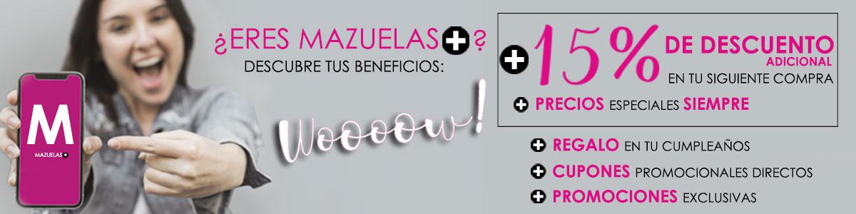 Únete a Mazuelas +